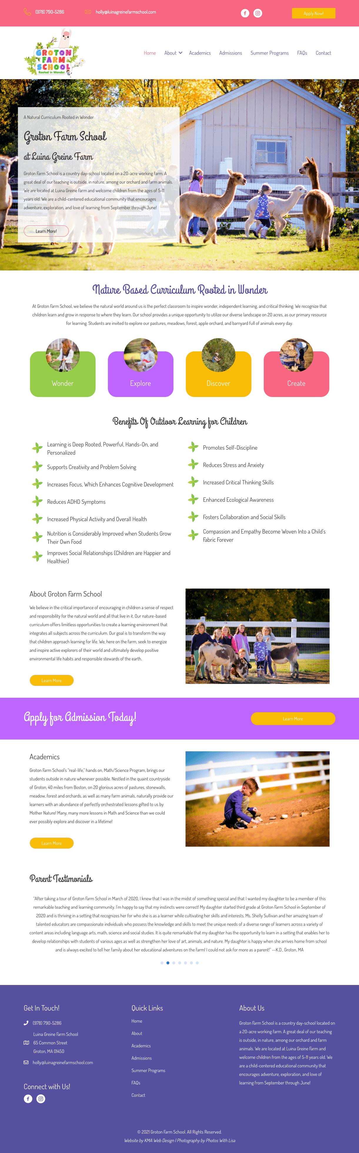 Groton Farm School